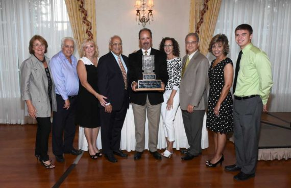 Giorgi kitchens and designs team accepting their award for of the 2015 Edward Rush Memorial Award